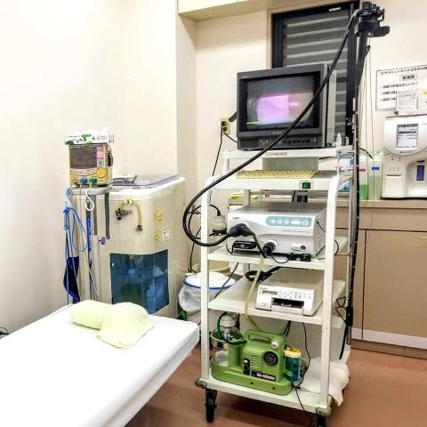 西宮市甲子園口の三浦医院 内視鏡室