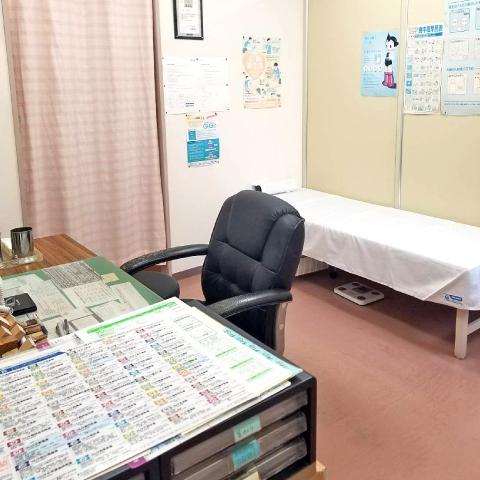 西宮市甲子園口の三浦医院 診察室